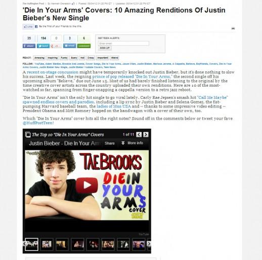 Tae Brooks Huffington Post
